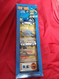 NEW 1979 Vintage Corgi Juniors  BATMAN 5 Car Gift Pack