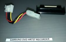 CONNETTORE HDD SAMSUNG DVD HR737 RECORDER + CABLE