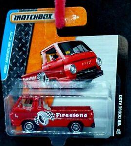 Matchbox Dodge A100 Pickup [Firestone] - New/Sealed/ Short Card 2014