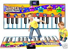 Children/Kids Giant Electronic Keyboard Piano Musical Playmat Toy Instrument