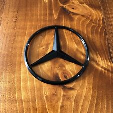 "New - Mercedes-Benz™ MB Trunk Black Star Emblem Badge 3.5"" 90mm 2128170016"