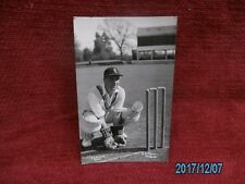 VINTAGE CRICKET POST CARD T.G. EVANS KENT 1951.
