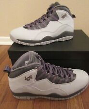 c670bcbc965e Nike Air Jordan Retro 10 London Size 11.5 Pure Platinum Metallic 310805 004  NIB