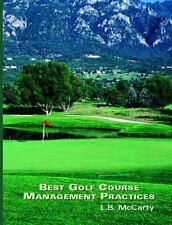 Best Golf Course Management Practices, L. B. McCarty - 9780130883599 - Very Good