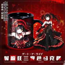 Date A Live Tokisaki Kurumi Ceramic Chameleon Mug Coffee Cup Cos Gift 300ml