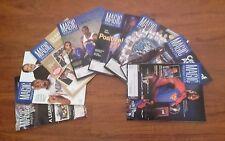 Orlando Magic NBA - 2007/08 Season - Magic Magazine - 8 Issues with Posters