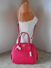 New COACH 34940 PRINCE Xgrain Leather Mini Satchel/Crossbody NWT $295 PINK RUBY