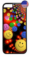 Funny Emoji's Smileys Rubber Case Cover For iPhone 11 Pro Max Xs XR 8 Plus 7