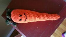 New listing Henry's World - Amigurumi Carrot Catnip Cat Toy