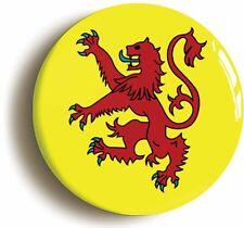 SCOTLAND BADGE BUTTON PIN (Size is 1inch/25mm diameter) SCOTTISH LION