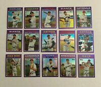 2020 Topps Heritage Purple Chrome Complete Your Set, You Pick