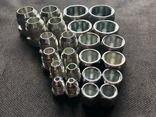 (24) PC ASSORTED JIC HYDRAULIC PLUG AND CAP FITTINGS (FREE SHIPPING)