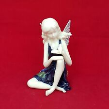 More details for rare old tupton ware butterfly fairy with bird hand painted - 5263 oa