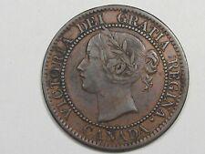VF/XF Better-Grade 1859 Canadian Penny.  #32