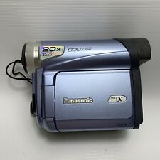 Panasonic PV-GS9 800x Camcorder Video Camera MiniDV Tape - Purple - F504