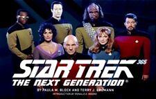 Star Trek: The Next Generation 365 by Paula M. Block (2012)...NEW Hardcover