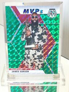 2019-20 Panini Green Mosaic  MVP JAMES HARDEN #296 Brooklyn Nets