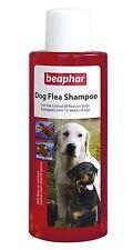 Beaphar Dog Flea Wash Bath Shampoo Treatment for Dogs Puppies Killing Fleas