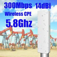 10km 14dbi 300Mbps Outdoor Access Point 5.8G CPE Bridge Wireless AP WiFi Router