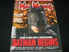 MAD MOVIES Magazine° JUNE 2005 No.176<>FRANCE (FRENCH) MAG<> BATMAN BEGINS