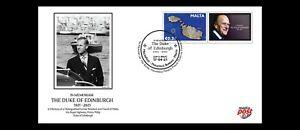 2021 Malta Pers. Cover in Memoriam HRH Duke of Edinburgh Prince Phillip  VF