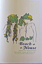 Beach House R&R Mini Concert Poster Reprint for Seattle WA Performance 14X10