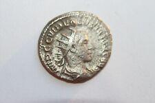 ANCIENT ROMAN VOLUSIAN SILVER COIN 3rd CENTURY AD