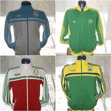Mens Adidas Track Jacket Brasil Guatemala Mexico S M XL Soccer Football
