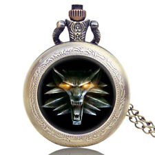 Game Of Thrones Chain Vintage Quartz Pocket Watch Awesome Men New Roaring Lion