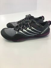 MERRELL WOMEN'S LITHE GLOVE CROSS TRAINING SHOE CHARCOAL/GRAPE SZ 6 NWOT $125