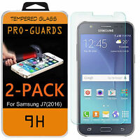 Premium 9H Tempered Glass Film Screen Protector for Samsung Galaxy J7 (2016)