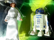 R2D2 and Princess Leia Collection Star Wars 2 Pack 1997 POTF 2 Action Figure MOC