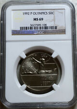 1992 P Olympic Half Dollar Commemorative 50C NGC MS 69