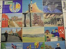 SchulwandKarte Wandkarte Geschichte der Menschheit Frühzeit bis Moderne 172x218