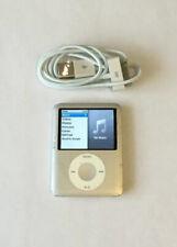 New listing Apple iPod Nano 3rd Generation Silver (4 Gb) Works Great #43526