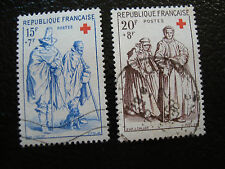 FRANCE - timbre yvert et tellier n° 1140 1141 obl (A15) stamp french