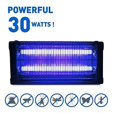 30W UV Electronic Bug Zapper Indoor Mosquito Insect Killer Electric Fly Swatter