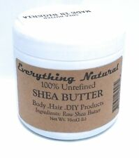 Unrefined Organic 100% Grade A Shea Butter - 1 lb (16 oz)- African, Raw, Pure -