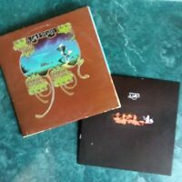 YES-YESSONGS 1973 ATLANTIC RECORDS TRI-FOLD 3 LP'S W/ BOOKLET