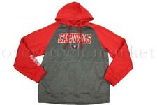 Washington Capitals Platinum Jersey Pullover Hoodie Red Stitched Letters  Logo M 2be587312