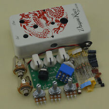 DIY Distortion pedal kits with 1590B  Aluminum Stomp box and DS-1 PCB Dragon