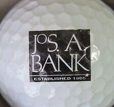 (1) Jos A Bank Logo Golf Ball