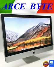 "APPLE IMAC 27"" INTEL CORE i5 RAM 8GB HD 1TB FATTURABILE GRADO B HIGH SIERRA"