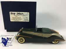 1/43 TOP MARQUES ROLLS ROYCE PHANTOM III CABRIOLET LABOURDETTE 1939 N°64/150