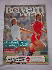 Orig.PRG   1.BL   1985/86   FC BAYERN MÜNCHEN - BAYER 04 LEVERKUSEN  !!  SELTEN