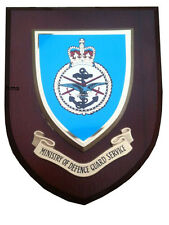 MOD Ministry of Defence Guard Military Wall Plaque uk hand made for MOD