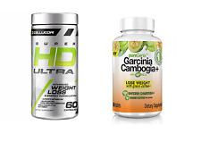 Cellucor SUPER HD ULTRA + Puregenix GARCINIA CAMBOGIA & Green Coffee Fat Burner