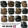 Genuine Country and Western Leather Belt Removable Buckle Made in USA Mens Belts