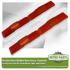 Retro Rosso Protettivo Riflettente Porta Protezione per Toyota. Edge Chip Cover