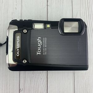 Olympus Tough TG-820 iHS 12.0MP Black Digital Camera Excellent Tested Underwater